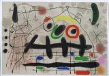 Joan Miró: Le Lézard aux plumes dor (2), 1967