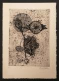 Johnny Friedlaender: Oiseau au Cercle, 1953