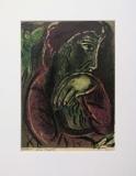 Marc Chagall: Job in despair, 1960