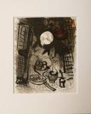 Marc Chagall: Natur morte brune, 1957
