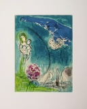 Marc Chagall: Place de la Concorde, 1952