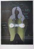 Paul Wunderlich: Cut-out für D.B., 1970