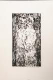 Wolff Buchholz: Zwei gehende Frauen, 1960