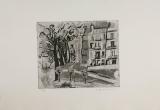 Wolff Buchholz: Seine-Quai, 1958