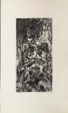 Wolff Buchholz: Sitzender Akt, 1960