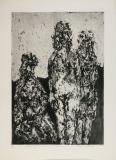 Wolff Buchholz:Figurenkomposition 5/61, 1961