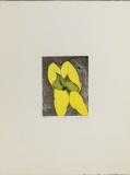 Wolff Buchholz: Gelb-grüne Figur, 1969